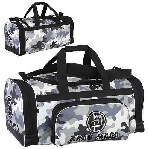 Krav Maga Black Sports Duffel Bag CAMO