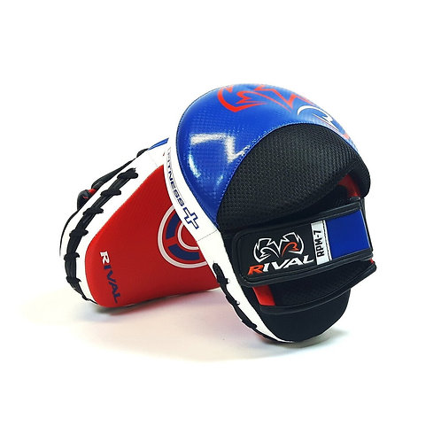 Rival Boxing RPM7 Fitness Punch Mitts - Blue