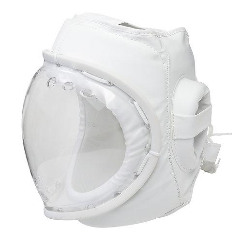 Kudo White  Headguard: Full Mask CE Approved