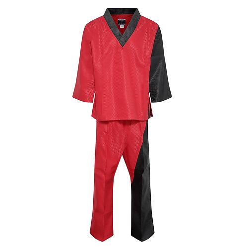 Elite Splice V-Neck Team Uniform - Red/Black