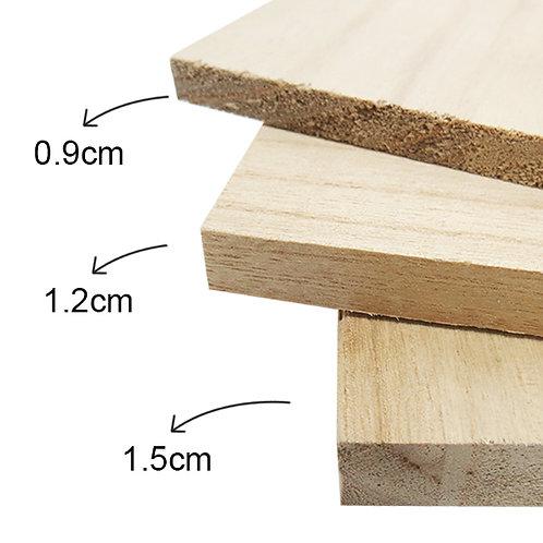 Paulownia Wooden Breaking Board - PRE ORDER