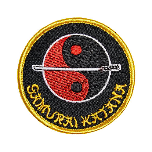 Samurai Katana / Yin Yang Patch
