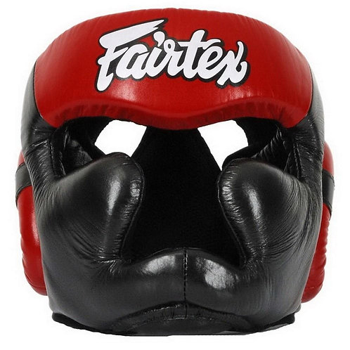 Fairtex Full Face Leather Headguard