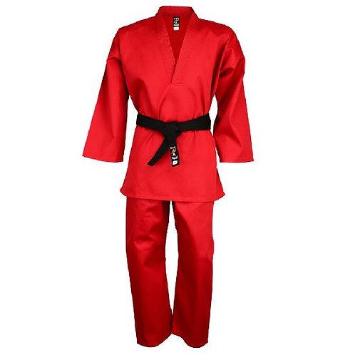 Freestyle Red Pull Over V-Neck Uniform : Children