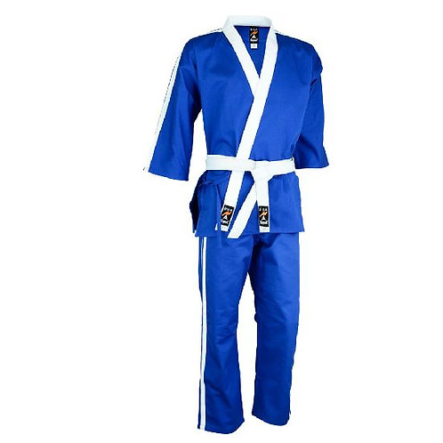 Striped Team Uniform Series V1 - Blue/White