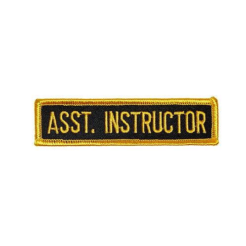 Assistant Instructor Patch 44