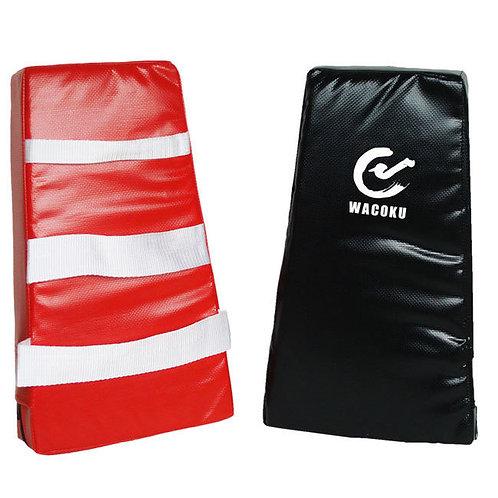 Childrens Soft Thai Kick pads - Black