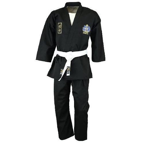 Official Choi Kwang Do Black Instructors Uniform - 9oz