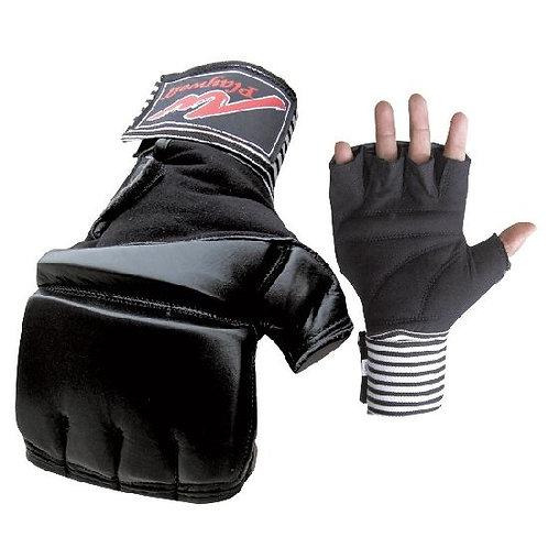 Gel Wrap MMA Leather Bag & Mitt Gloves - Special Offer