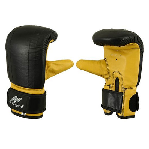 Delxue Leather Bag & Pad Work Gloves