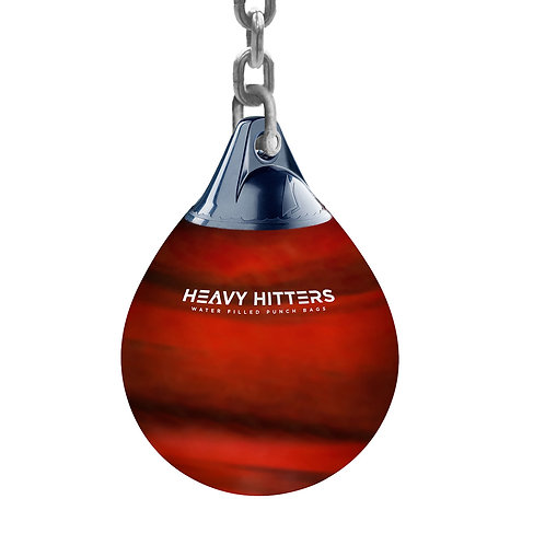 """Heavy Hitters Water Filled Punch Bag  - 22"""" - Red"""