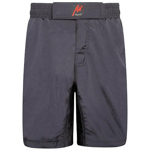 Playwell Pro MMA Plain Black Training Shorts