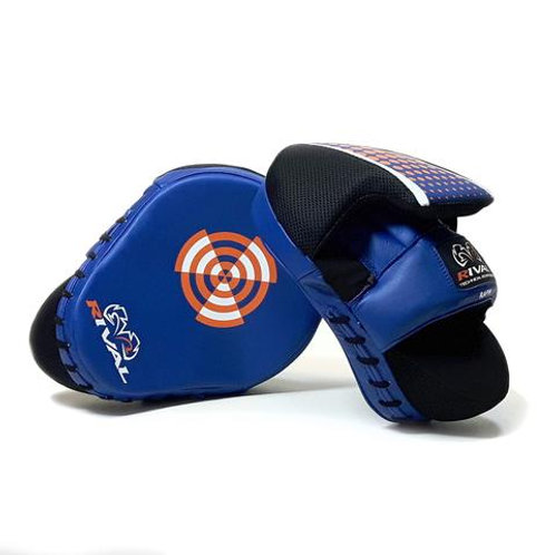 Rival Boxing RAPM Pro Punch Mitts - Blue