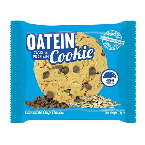 Oatein Cookies ( Protein Bars ) - Box of 12 Chocolate Chip
