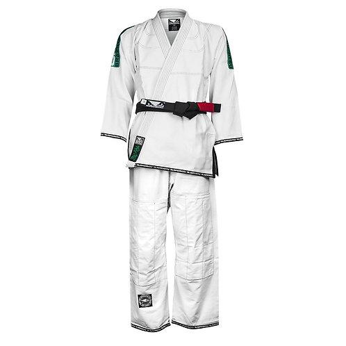 "Bad Boy MMA Competition White ""Ripstop"" Ju Jitsu Gi"