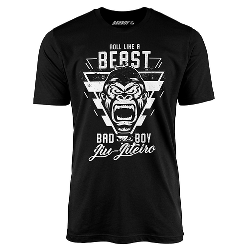 Bad Boy Roll Like A Beast T Shirt