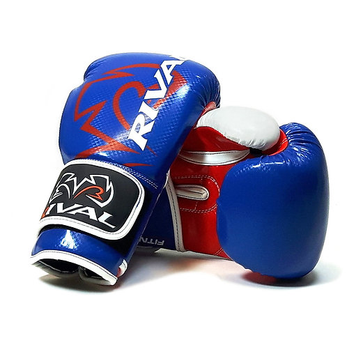 Rival Boxing RB7 Fitness Plus Bag Gloves - Blue