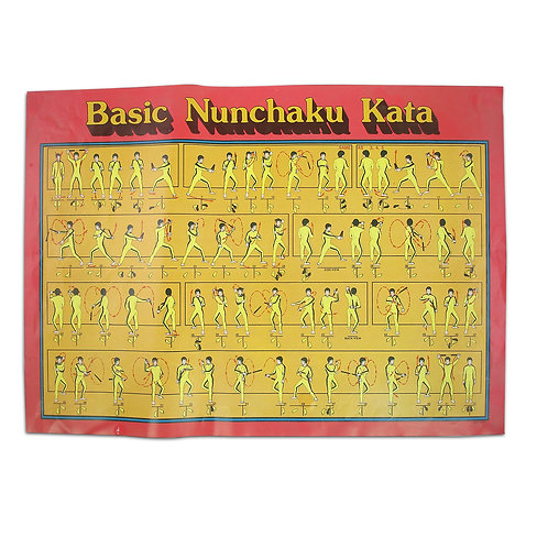 Nunchaku Kata Poster