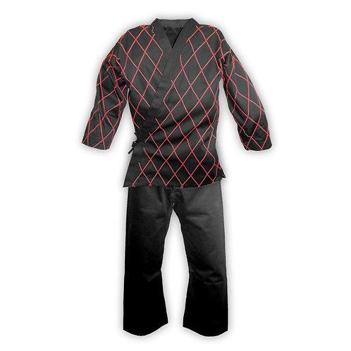 Hapkido Uniform: Black/Red