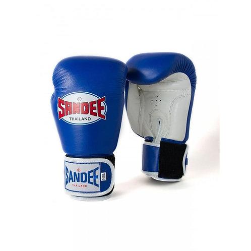 Sandee Kids Muay Thai Boxing Gloves  - Blue