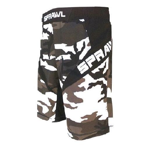 Sprawl Fusion 3 Series Fight Shorts - Urban Camo