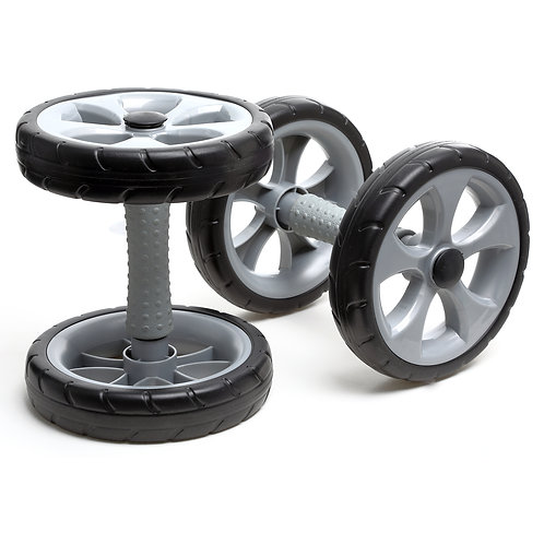 Double Core Strength Wheel Exerciser - Clearance