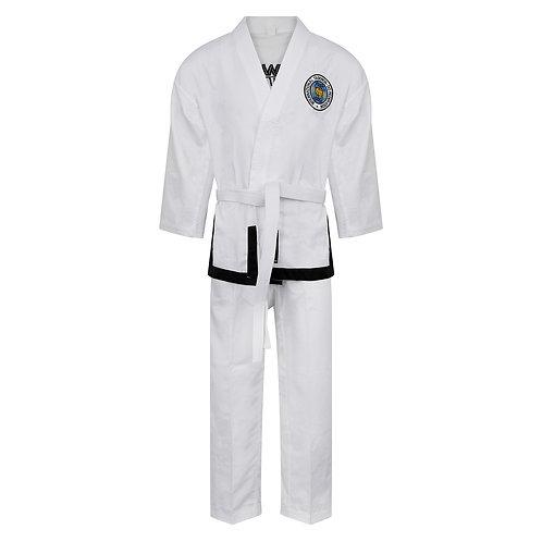 Elite Ultra Light ITF Taekwondo Black Belt Fighter suit