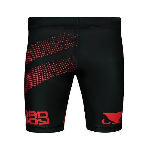 Bad Boy MMA Long Vale Tudo Shorts - Black/Red