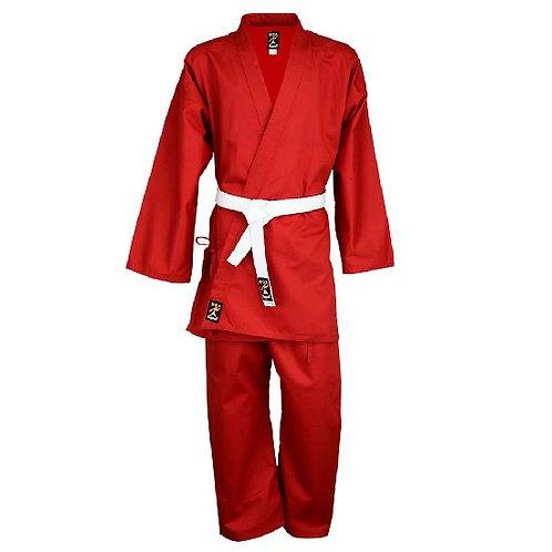 Karate Uniform : Red Children's P/C