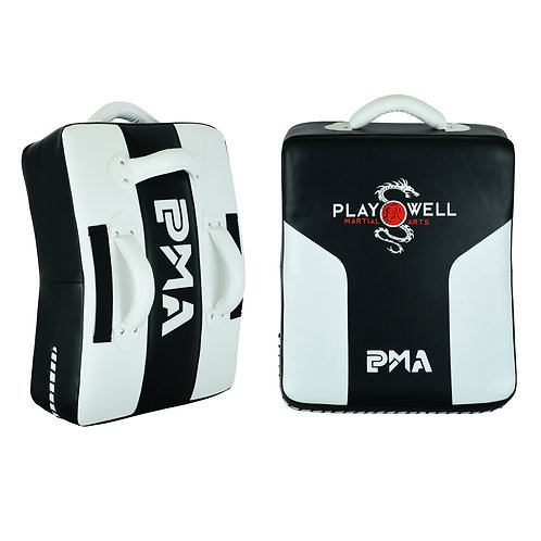 PMA Deluxe Curved Kick Shield  W/ Grip Bar