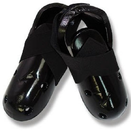 Dipped Foam Sparring Boots ( Single Layer ) - Black - Special Of