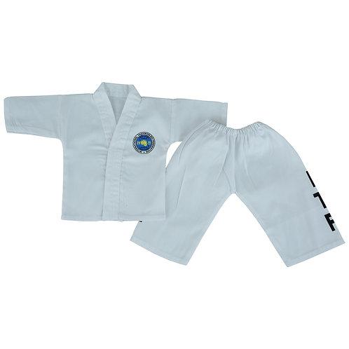 Baby ITF Taekwondo  Suit - White (Infant Uniform)