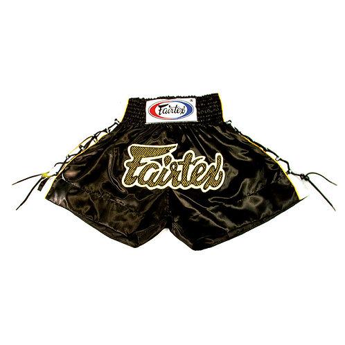 Fairtex BSK601 Kids Muay Thai Shorts - Black
