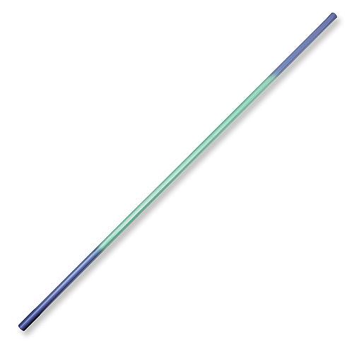 Graphite Bo Staff Straight 1pc - Blue/Green