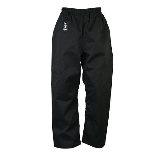 Karate Trousers Black Polycotton - 9oz