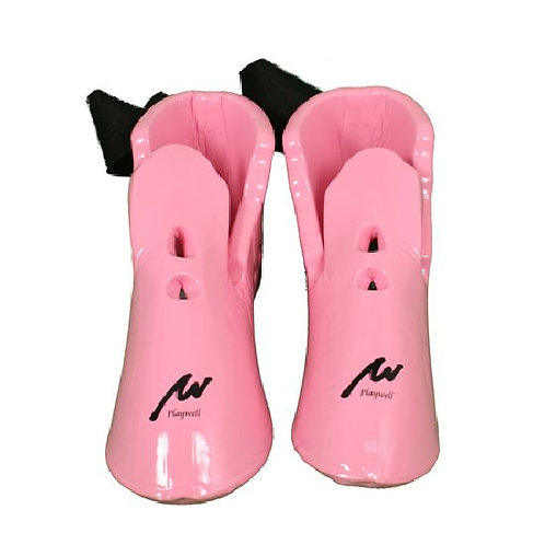 Ladies Pink Dipped Foam Boots