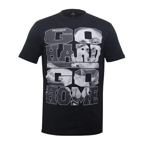 """Pride or Die MMA Black """"State Of Mind"""" T Shirt"""