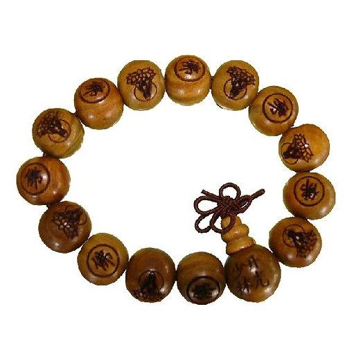 Shaolin Prayer Bracelet Beads
