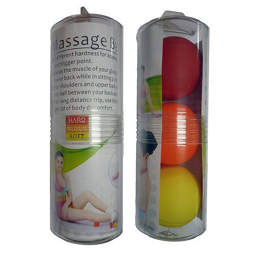 Acupressure Trigger Point Massage Balls - Set of 3