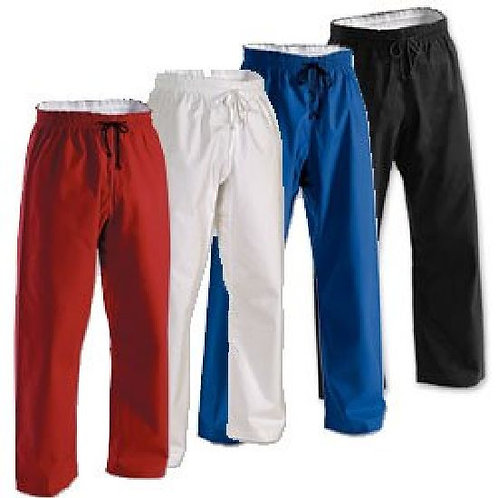 Karate Trousers Red P/C