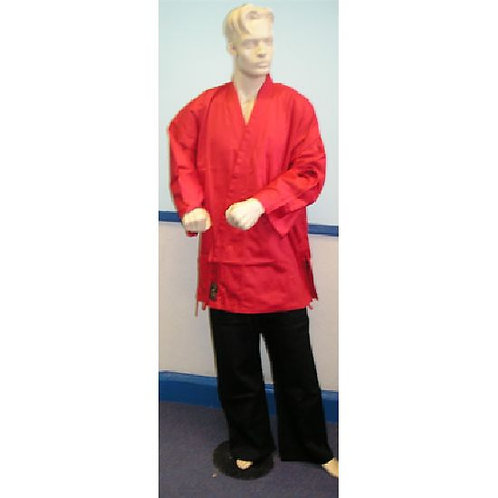 Karate Uniform : Red Jacket with Black Trousers: Children's
