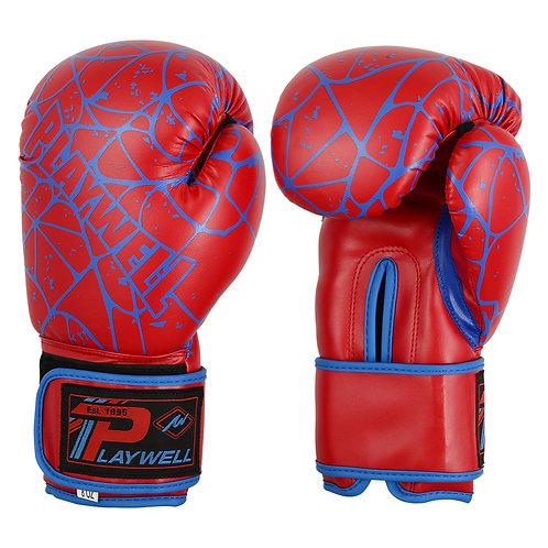 """Childrens Elite """"Spider"""" Vinyl Boxing Gloves"""
