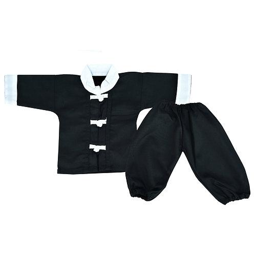 Baby Kung Fu  Suit - Black (Infant Uniform)