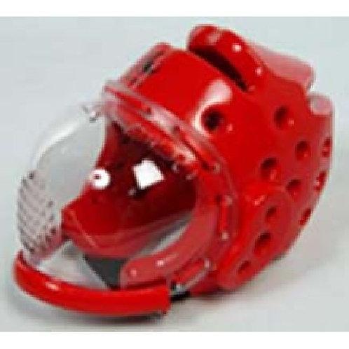 Dipped Foam Black Headguard : Full mask