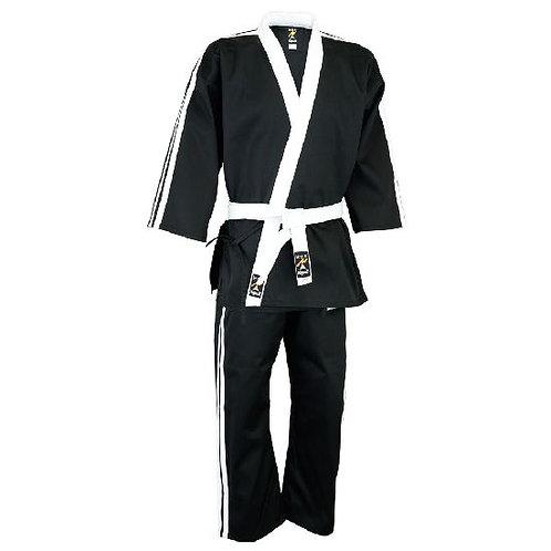 Striped Team Uniform Series V1 - Black/White