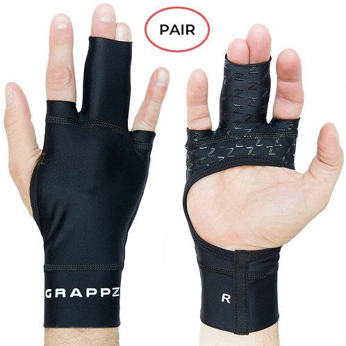 Grappz - Finger Tape Alternative Compression Grappling Gloves V2