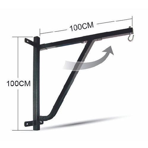 Deluxe Heavy Duty Foldable Wall Bracket - Supports - 100 Kilos