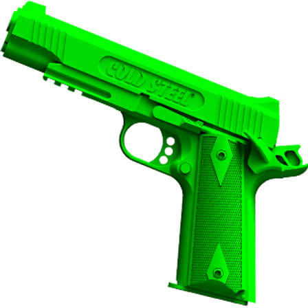 Cold Steel 1911 Rubber Training Gun ( Safety on )