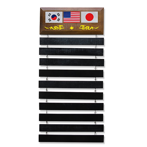 Standard Wall Mounted Belt Display Stand