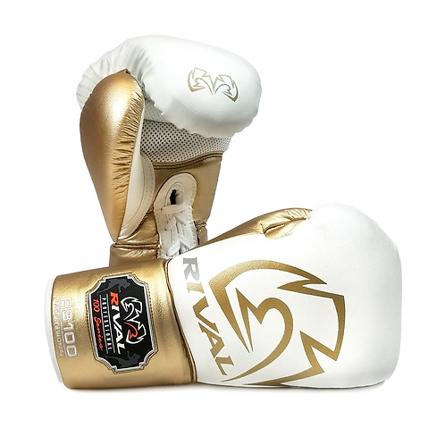 Rival Boxing RS100 Proffesional Sparring Gloves - White
